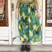 インドレーヨン 総柄スカート