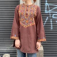 パキスタン 刺繍 チュニック 11