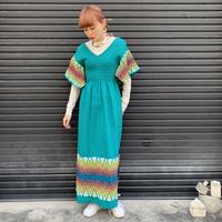 グアテマラ刺繍 ワンピース