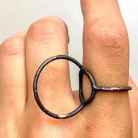 jona   ring × ring  / black /13号