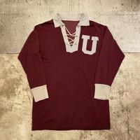 """〜1960s """"CHAMPION"""" 2トーンレースアップシャツ"""