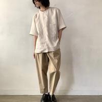Handwerker  ショートスリーブシャツ  リネン / off white / M