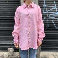 ギリシャ製 リネンシャツ