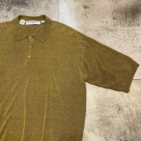 〜90s  ニットポロシャツ