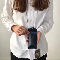 ohta  key pouch / navy