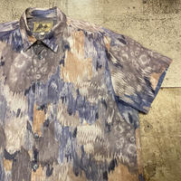1990's アメリカ製総柄半袖シャツ