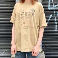 """""""おじさんと馬"""" Tシャツ"""