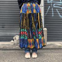 インドコットン ギャザースカート
