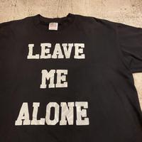 """""""1人にさせて"""" Tシャツ"""