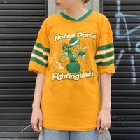 """Notre-Dame fighting Irish"" ナンバリングTシャツ"