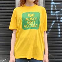 "〜90's ""資産運用"" Tシャツ"