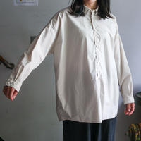 NO  CONTROL  AIRスーピマコットンワイドシャツ Ecru  Beige /  S