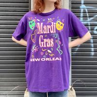 "90's ""mardi gras"" Tシャツ"