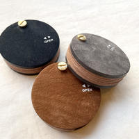 macromauro Kudu Leather  KEY CASE  【 black / grey / brown 】