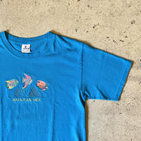 """ MAZATLAN.MEX. "" 刺繍Tシャツ"