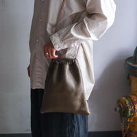 Inswirl  KINCHAKU BAG /OLIVE【original color】