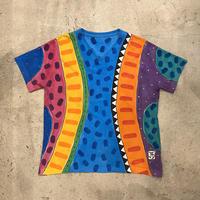 ハンドペイント 総柄Tシャツ