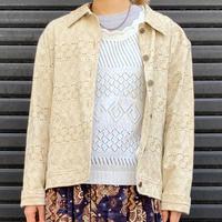 コットン刺繍ジャケット