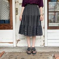 グアテマラ織り ティアードスカート