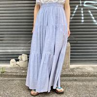インド綿 ティアードスカート