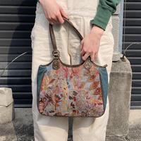 ゴブラン織り ハンドバッグ