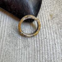 Jona    square ring 4mm silver/19号