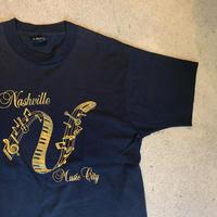 """1980年代〜 """"Nashvill Music City"""" Tシャツ"""