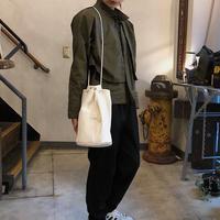Inswirl SHOULDER DUFFLE BAG【WHITE】
