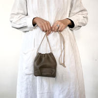 Inswirl KINCHAKU BAG SMALL【OLIVE】