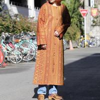 インドコットン 羽織りワンピース