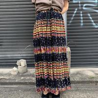 インドコットン ギャザー スカート