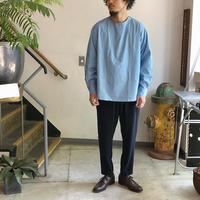 ルーマニア軍 スリーピングシャツ blue /  Mサイズ