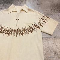 70's プルオーバーアロハシャツ