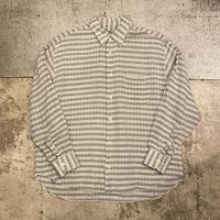 イタリア製コットンリネンシャツ