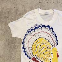 """""""TURKEY!"""" ハンドペイントTシャツ"""