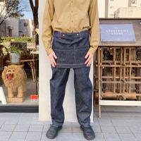 Handwerker  デニム エプロンパンツ indigo/S