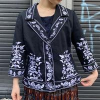 刺繍ジャケット