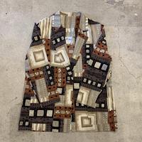 アメリカ製 柄シャツジャケット