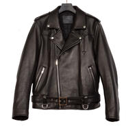 MOTORCYCLE WESTERN JACKET -SHEEP SKIN-