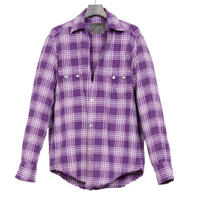 WESTERN CUTTING SHIRT -SCOTTO CHECK FLANNEL-
