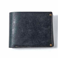 Vintage Works × The Wonder Lust    Two-Fold Wallet  navy