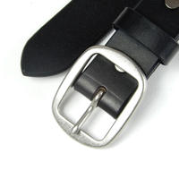 30mm PLAIN BELT (BLK)