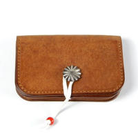 CONCHO CARD CASE  (CAMEL)