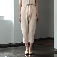 【THE YARD×SIRI SIRI】CINEMA JAPONESQUE Cropped pants