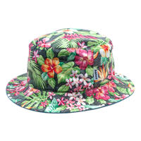 banGo Flower Hiyoke Hat / Made in Hawaii U.S.A.