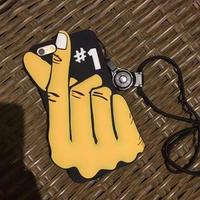 指ハートiPhone6/6sケース