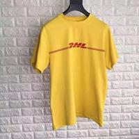 DHL☆ユニセックスTシャツsizeM