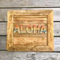 wood aloha flame