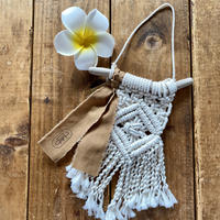 small macramé tapestry  by Due 2