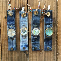 DENIM concho watch